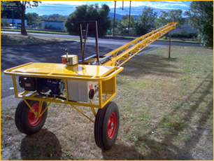Mining equipment tractor: Roof tile hoist for sale
